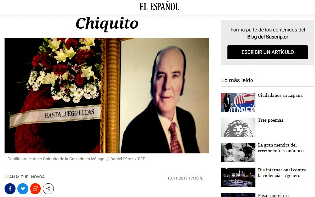 CHIQUITO IN EXCELSIS